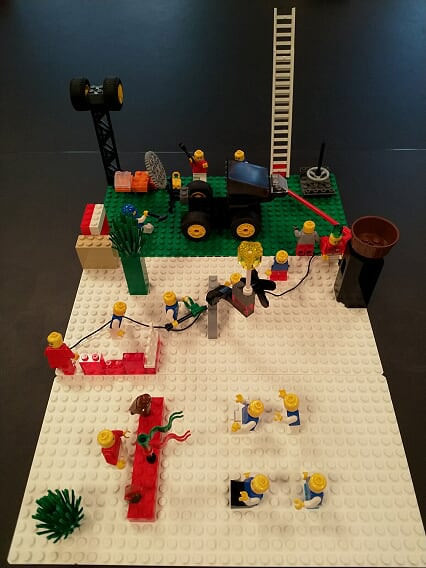 Lego® Serious Play® & Handstorm™ for Team Flow