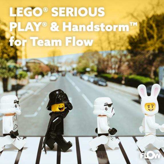 Training tot facilitator in het gebruik van LEGO® SERIOUS PLAY® & Handstorm™ voor Teamflow